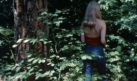 Young and unrestrained couple is fucking somewhere in the woods