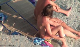 You can not miss those passionate hot bodies sunbathing naked