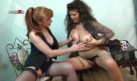 Bestial milf are licking and fingering each other pussies