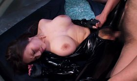 Hardcore asian foursome includes a lot of latex and torture