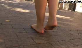 Check out those tasty and smoking hot toes of a horny teen babe