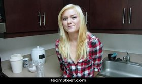 Amazing oral gf sex with truly beautiful blonde princess